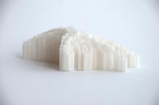 Design Agency I Informed Surface Tectonics Workshop by David Gerber, group ıı model